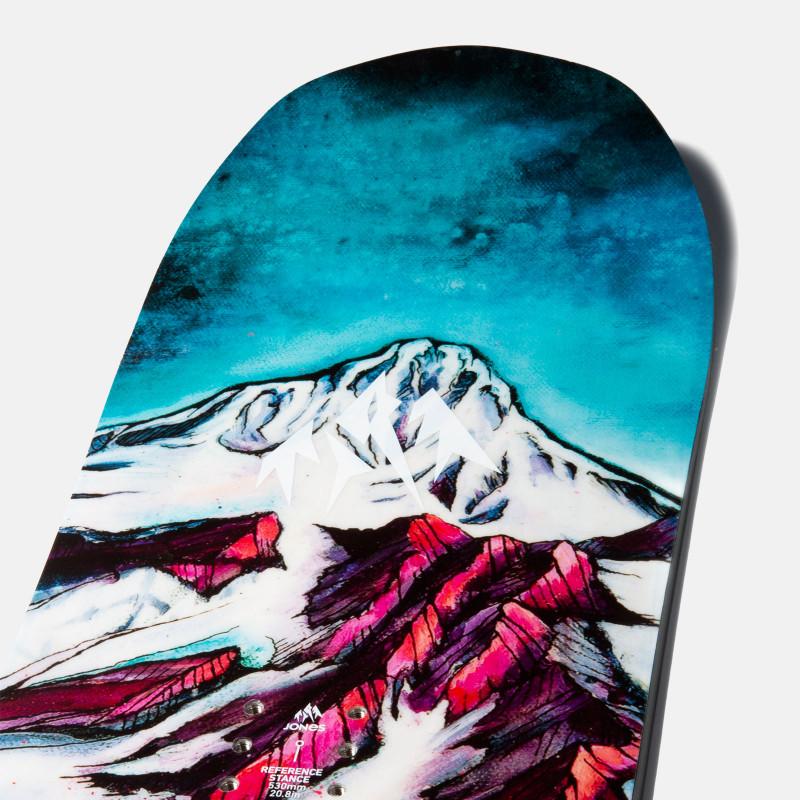 Jones Women's Dream Catcher Snowboard close up detail