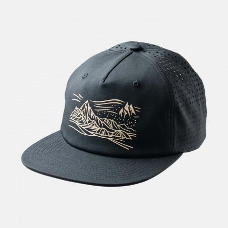 Split cap - black