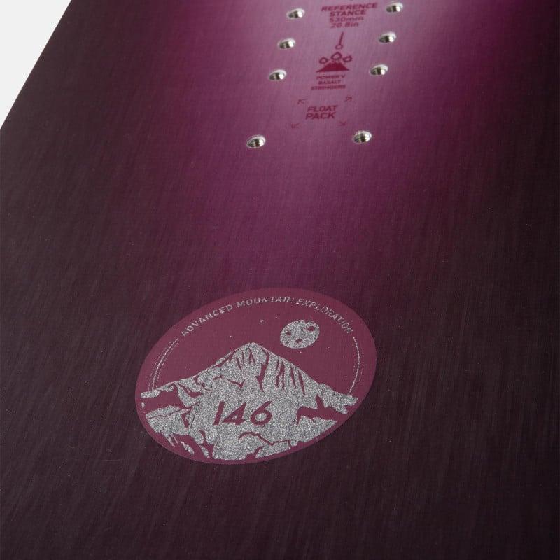 Jones Women's Stratos Snowboard detail shot