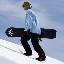 Jones Men's Stratos snowboard with Jones bindings
