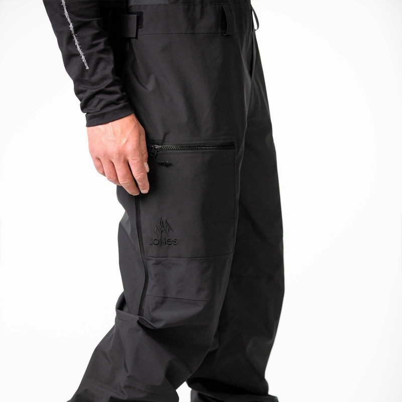 Zippered thigh pockets